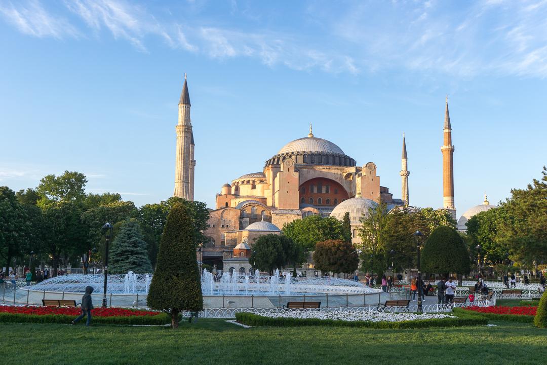 Hagia Sophia, la reine Sophie