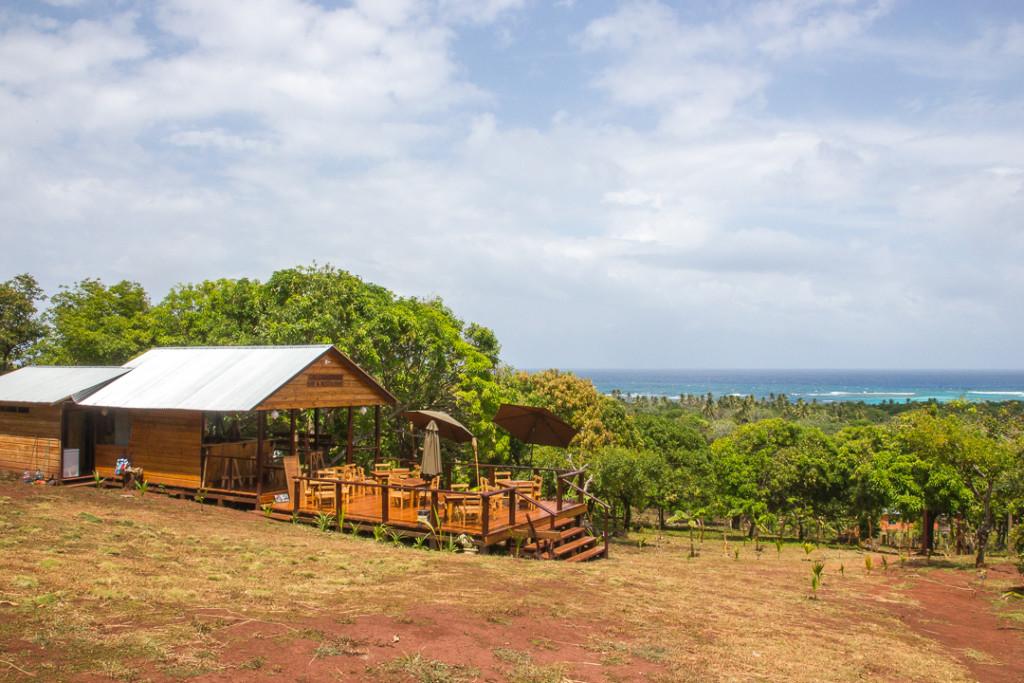 Little Corn - vue de locean - Guide de voyage au Nicaragua