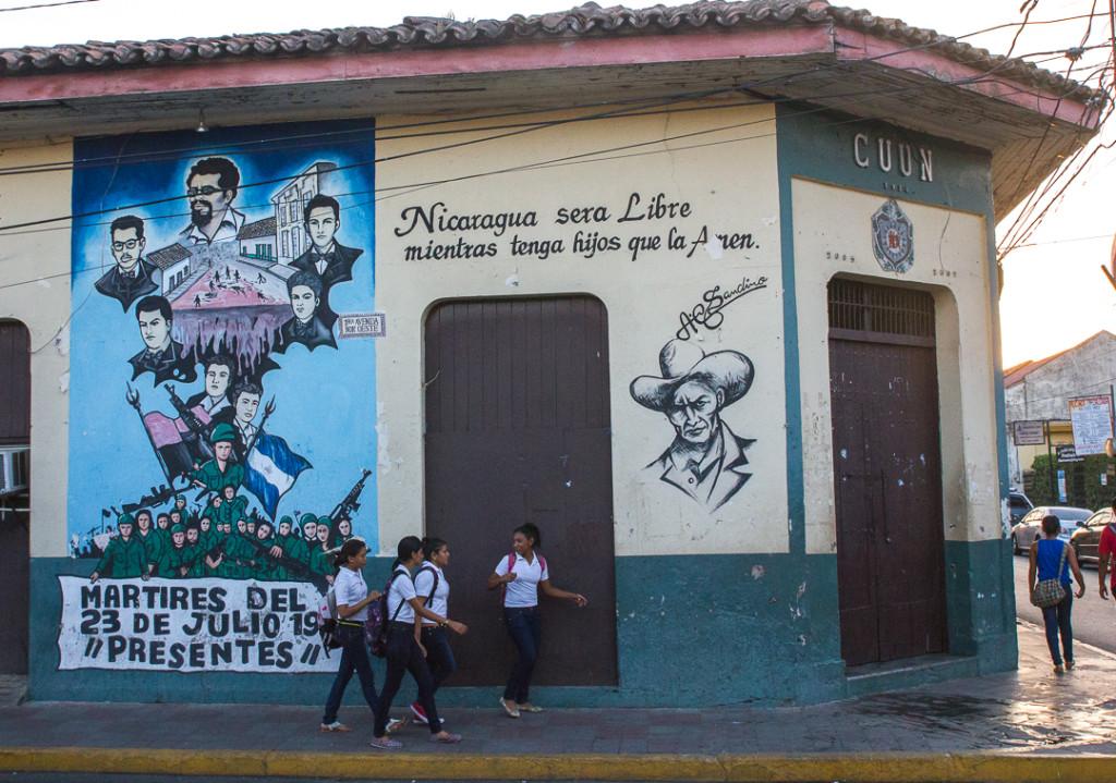 Murale de Leon
