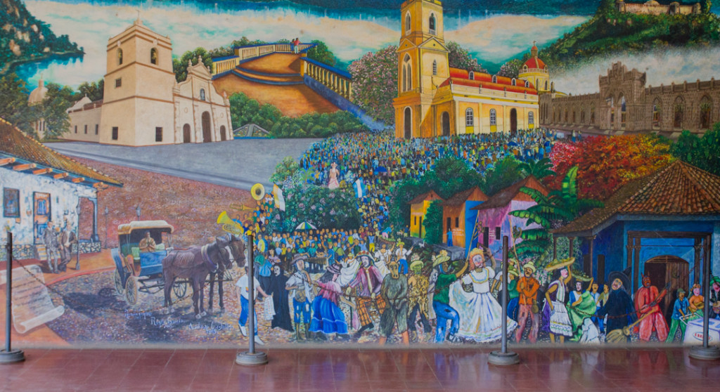 Murale de quoi faire a Granada Nicaragua