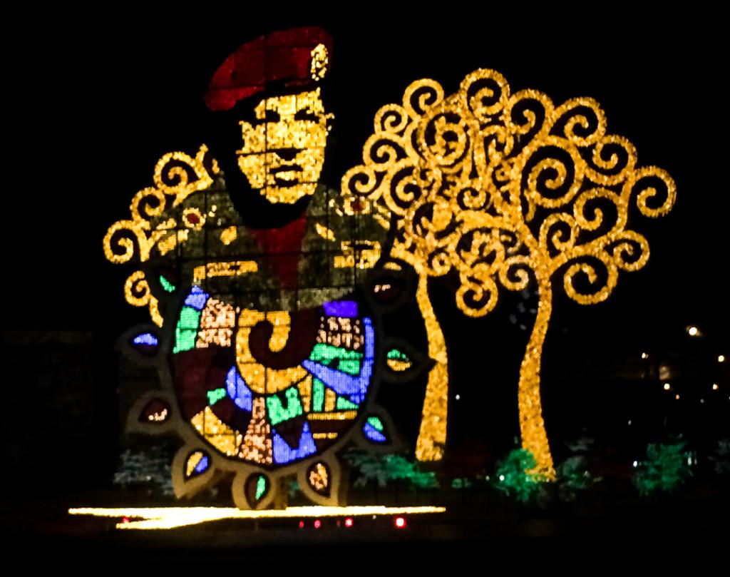 Oeuvres lumineuses de Managua