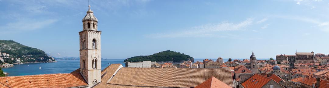 Panorama du joyau de Croatie