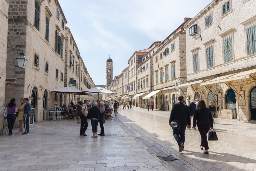 Placa ou Stradun - Dubrovnik - Croatie
