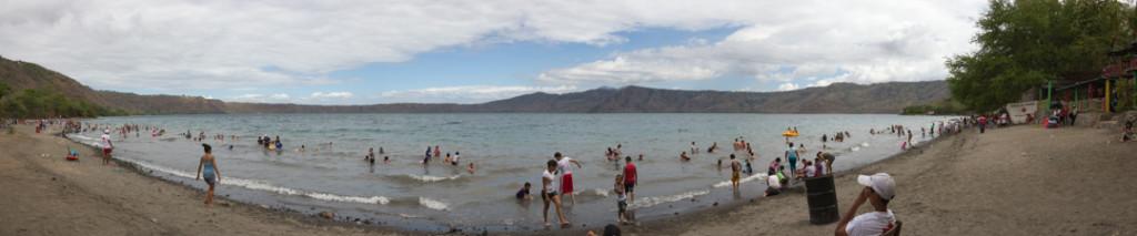 Plage de la lagune de Apoyo - a faire autour de Granada Nicaragua