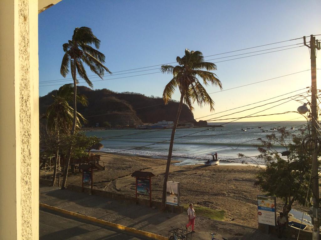 Plage de notre chambre San Juan del Sur – Hotel Estrella