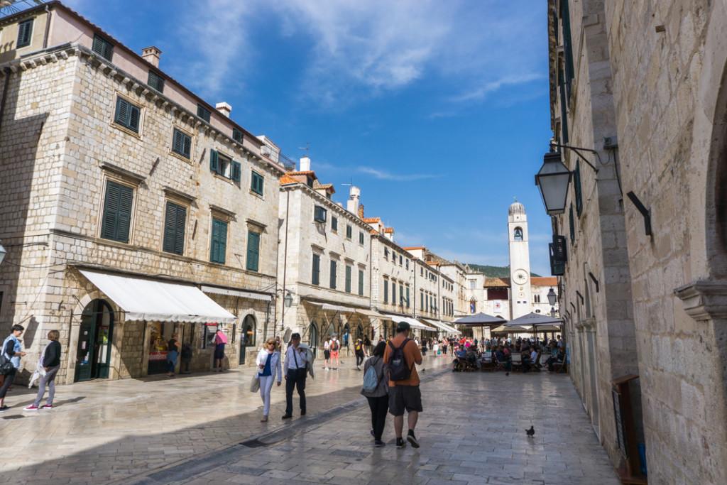 Rue principale Dubrovnik