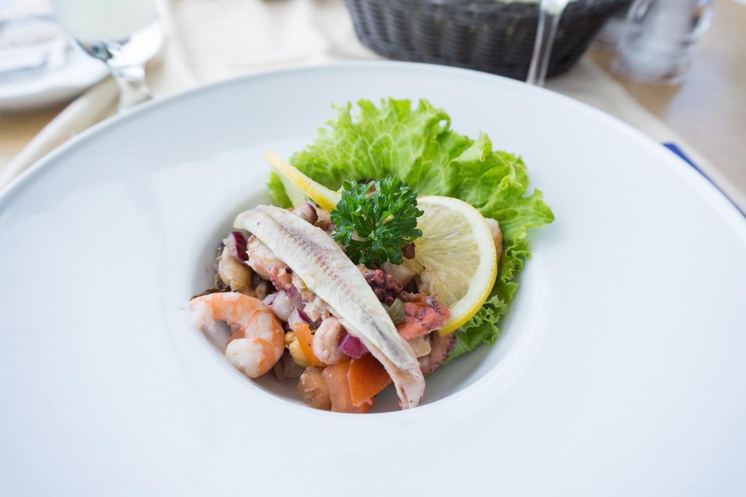 Salade de fruits de mer - Restaurant Panorama