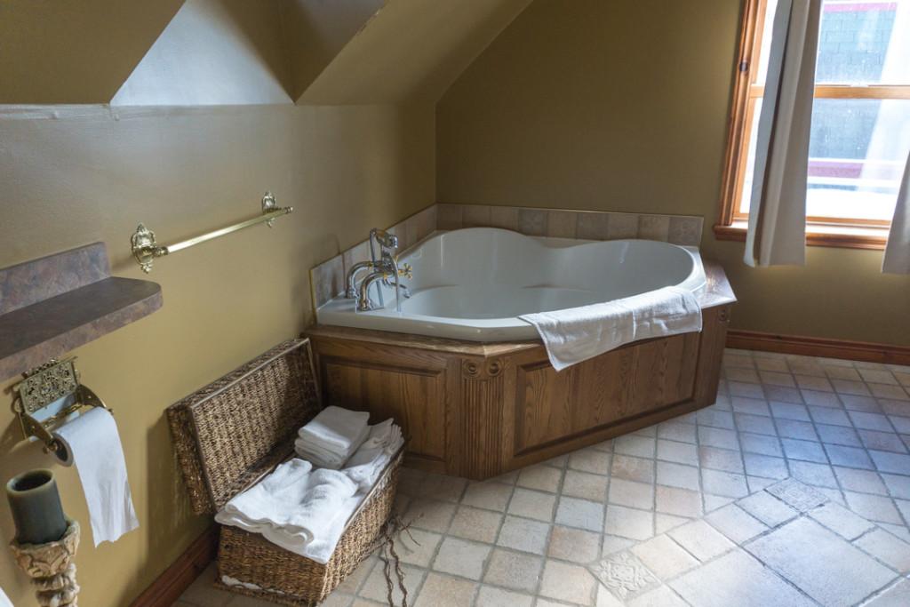 Salle de bains - Auberge Mr James