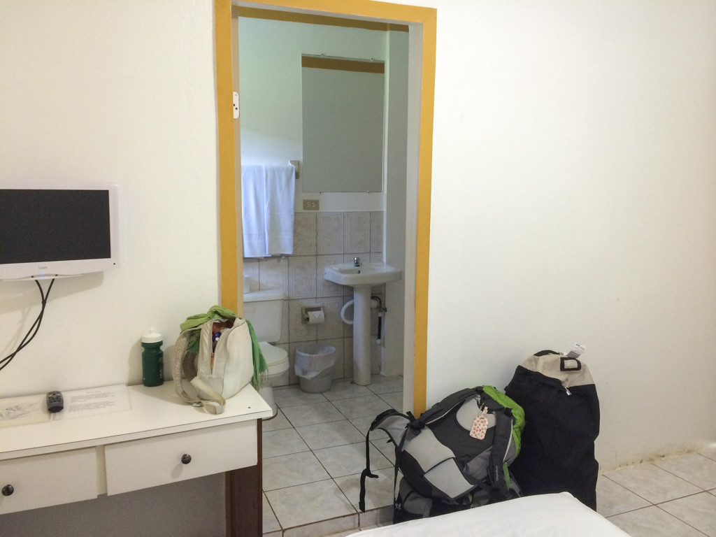 Salle de bains - Big Corn Island–Marthas Bed & Breakfast
