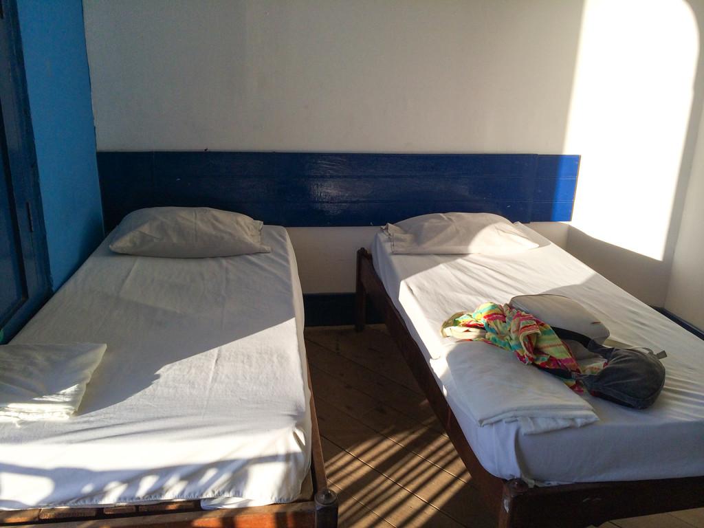 San Juan del Sur – Hotel Estrella - Notre chambre au Nicaragua