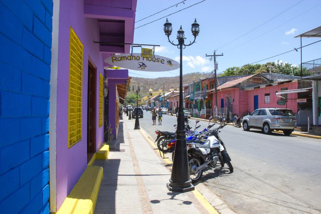 San Juan del Sur - rues colorees