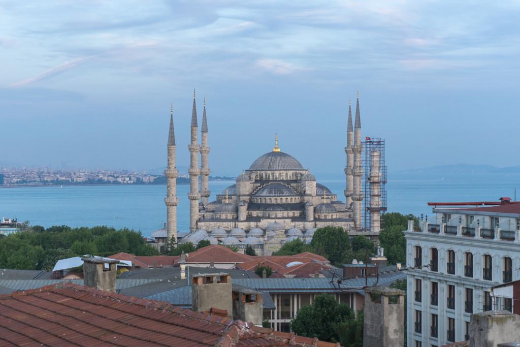 Superbe vue sur la mosquee bleue - Pierre Loti Hotel