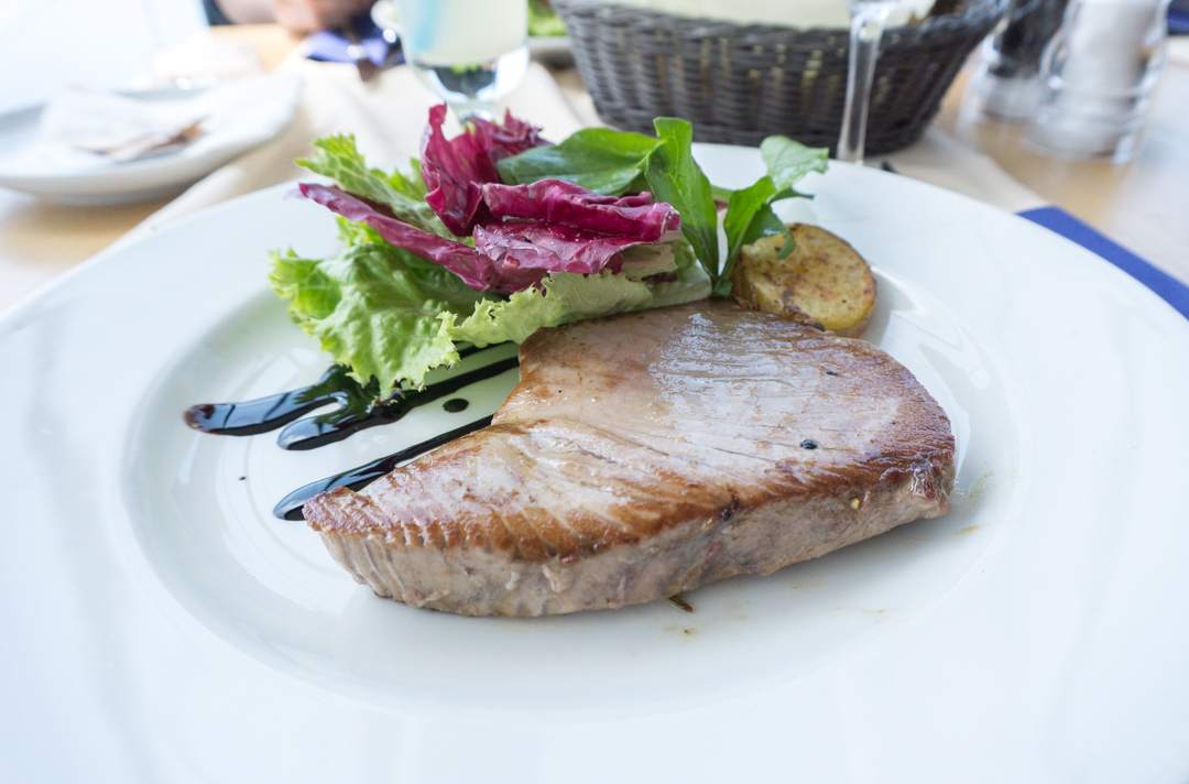 Thon poele - restaurant Panorama