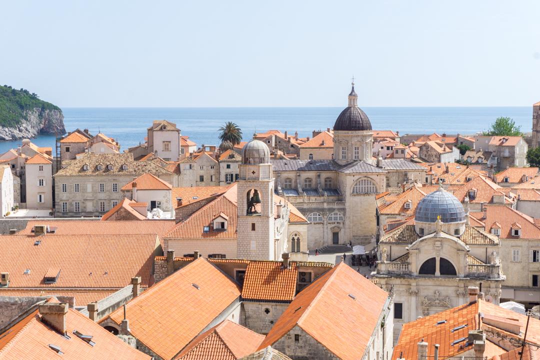 Toits oranges de Dubrovnik