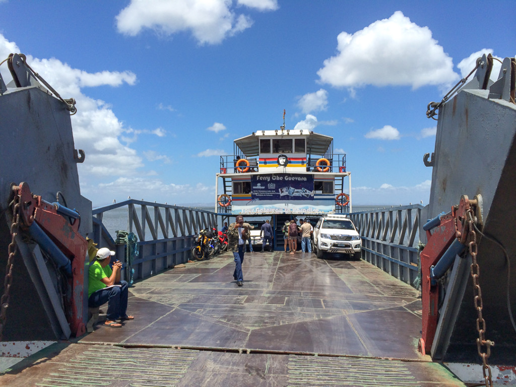 Traversier ferry de Ometepe