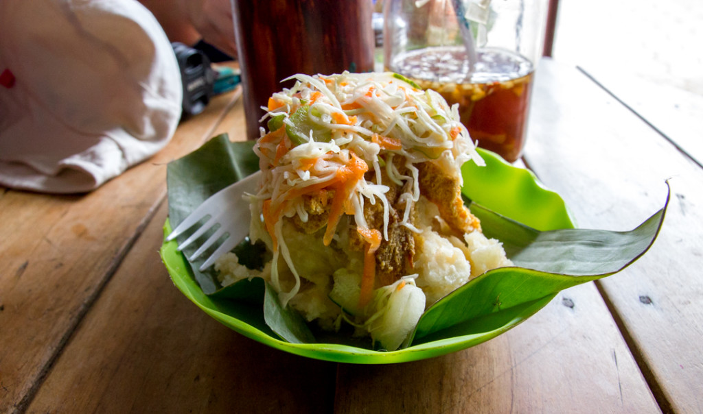 Vigoron - plat typique du Nicaragua