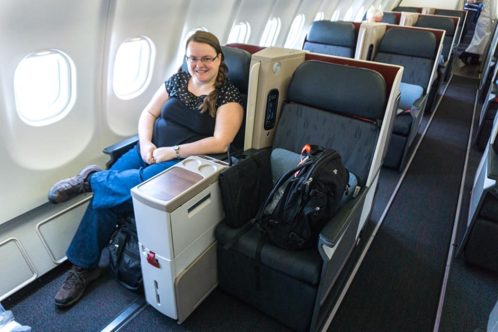 Voila a quoi ressemble un vol en classe affaires a bord de Turkish Airlines