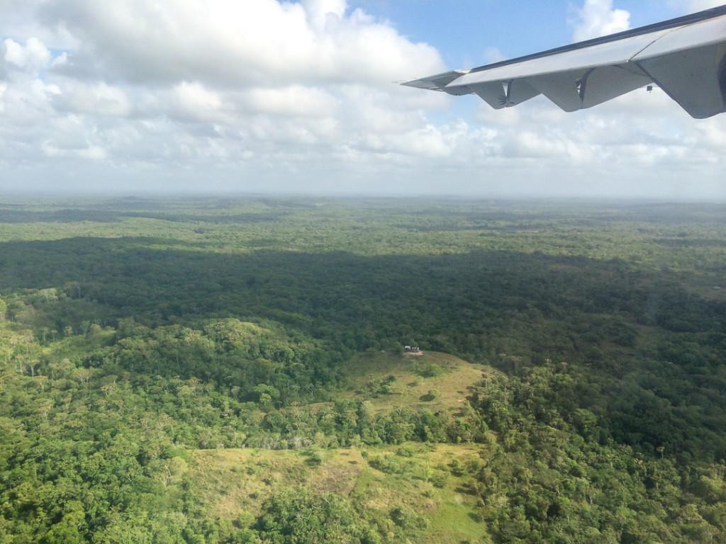 Vue de l'avion Nicaragua
