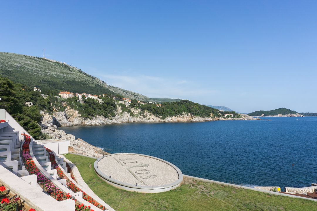 Vue de mon balcon - Hotel Rixos Libertas Dubrovnik