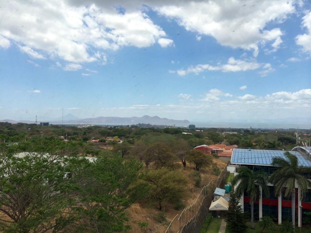 Vue de notre chambre - Nicaragua - Managua — Holiday Inn Express