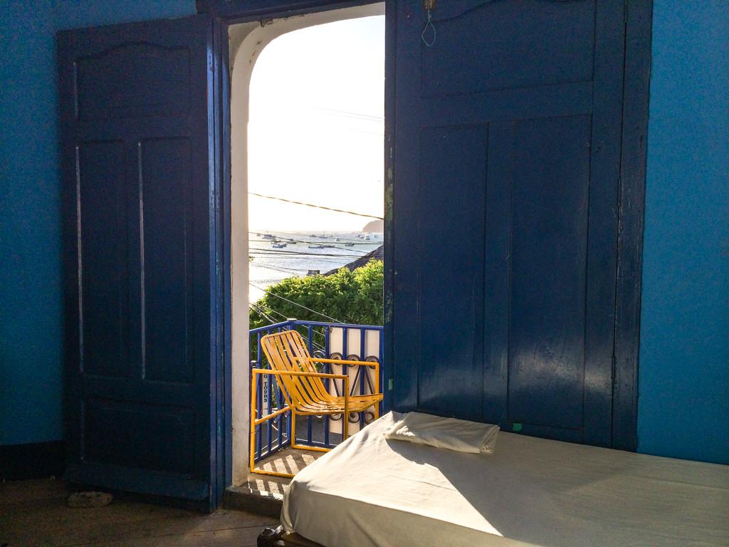 Vue de notre chambre - San Juan del Sur – Hotel Estrella