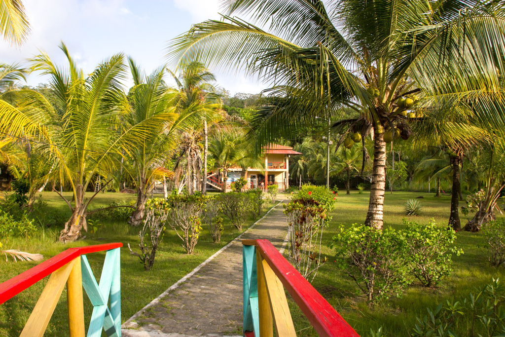 Vue du Big Corn Island–Marthas Bed & Breakfast