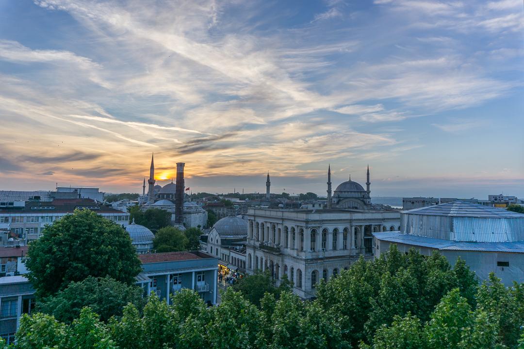 Vue du Pierre Loti Hotel Istanbul