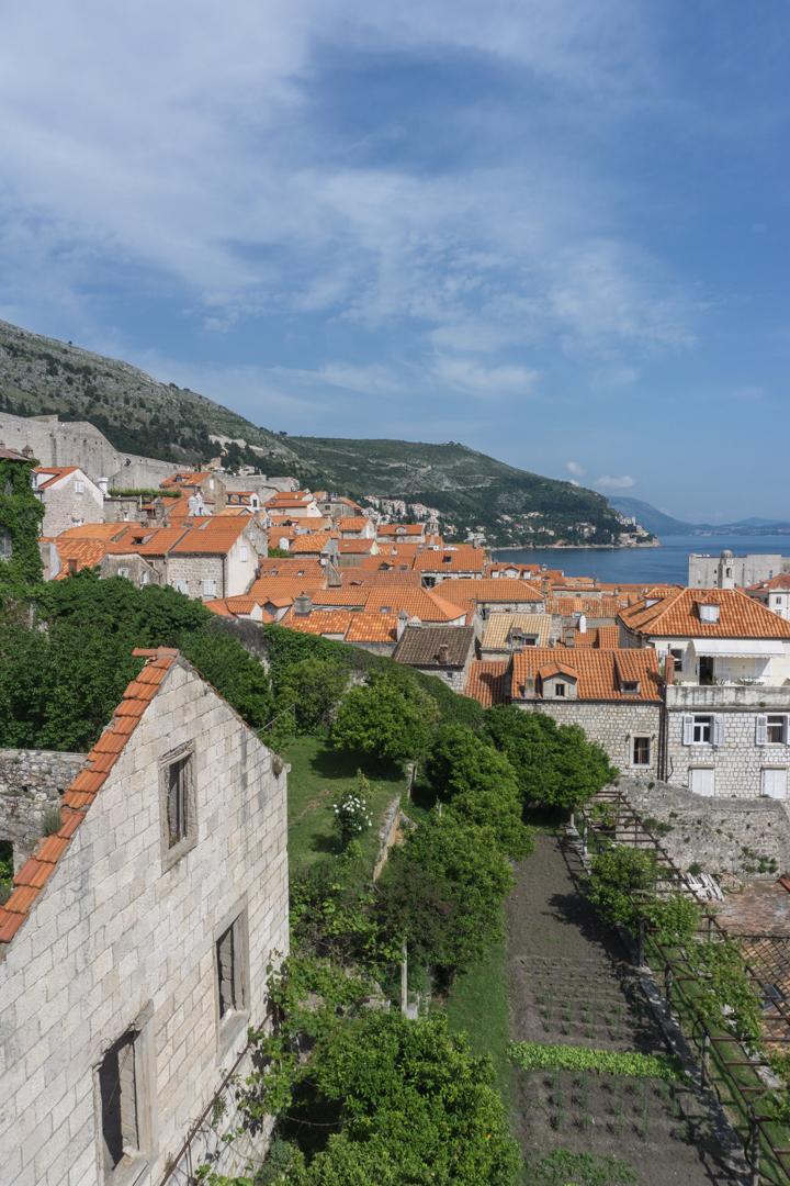 Vue dun voyage a Dubrovnik