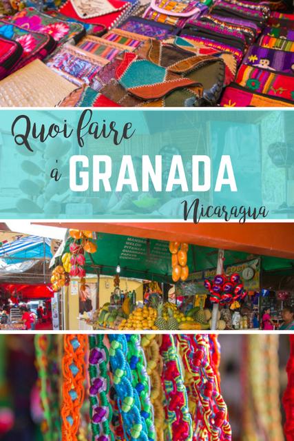 quoi faire à Granada Nicaragua