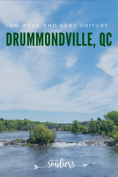 Sans voiture à Drummondville