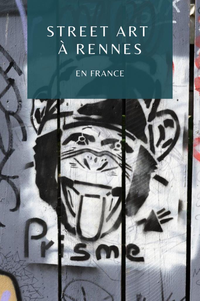 Street art à Rennes en France