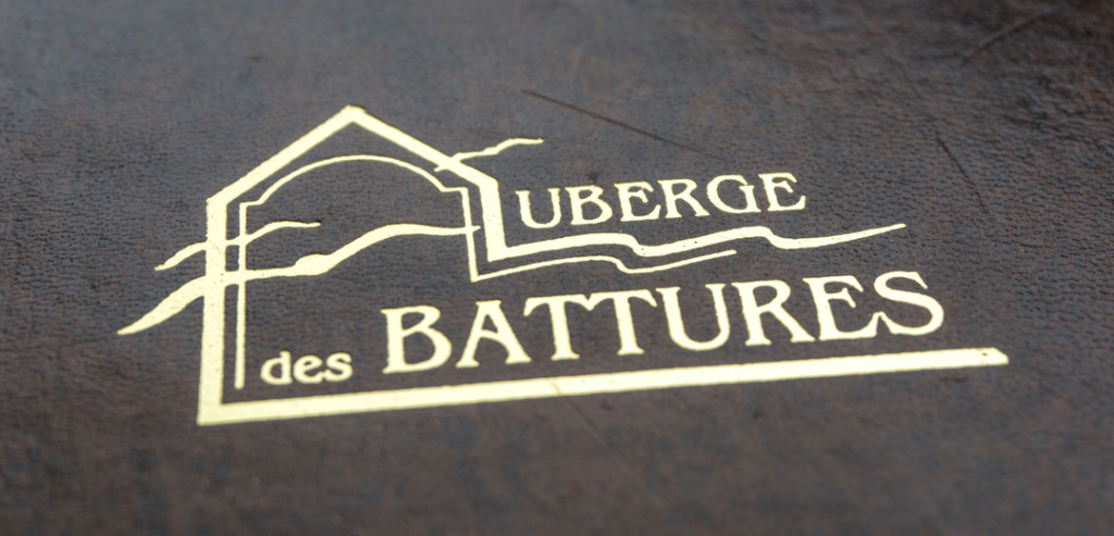 Auberge des Battures - Jennifer Dore Dallas - menu
