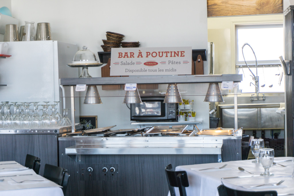 Bar a poutine - restaurant Chez Perron