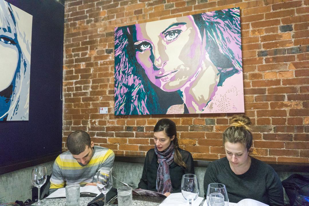 Blogueurs au restaurant