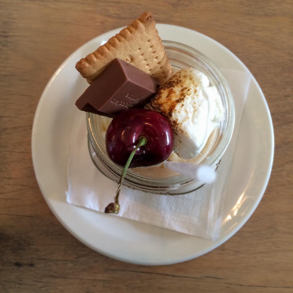 Dessert LEden Rouge ou manger au Temiscamingue