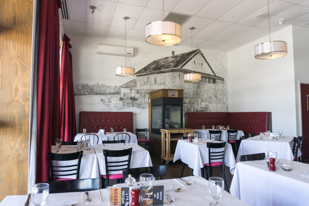 Fromagerie Perron - salle a manger Saguenay-Lac-Saint-Jean
