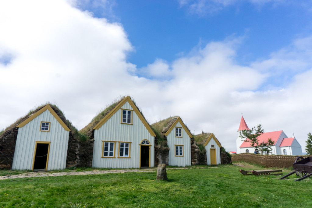 Glumbaer maisons de tourbe