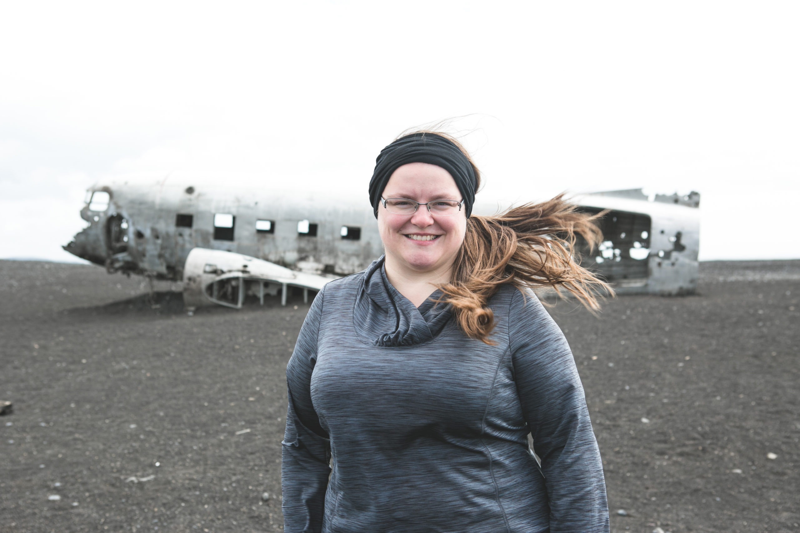 Jennifer Doré Dallas en Islande - Photo de Lucie Bataille