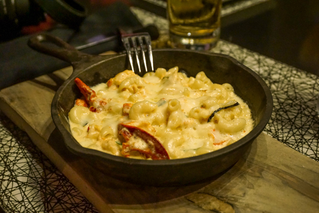 Mac & Cheese au homard - The Brickhouse