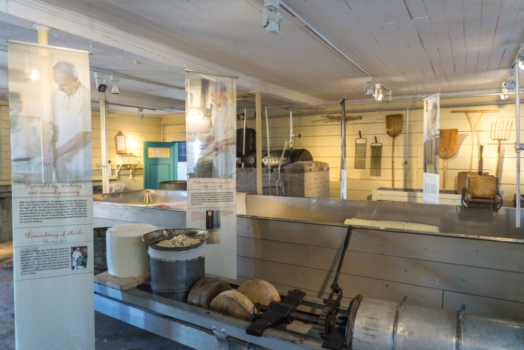 Musee du metier de fromager - Fromagerie Perron