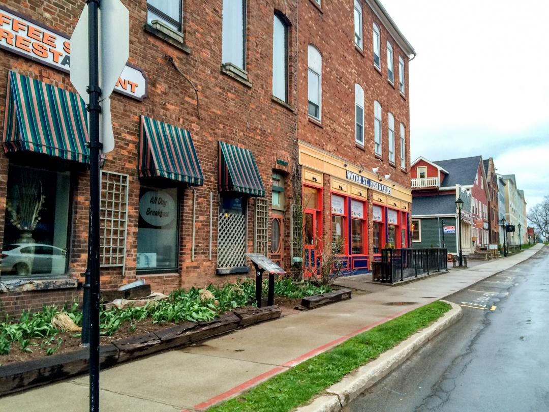 Rues colorees de Charlottetown