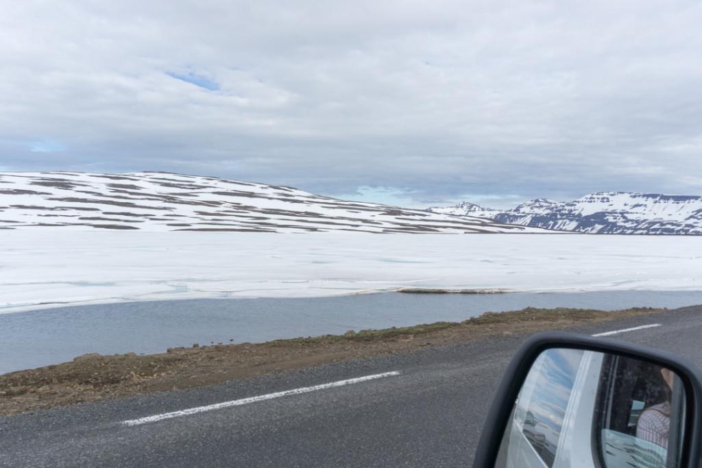 Sommets enneigés - Fjords de lest Islande