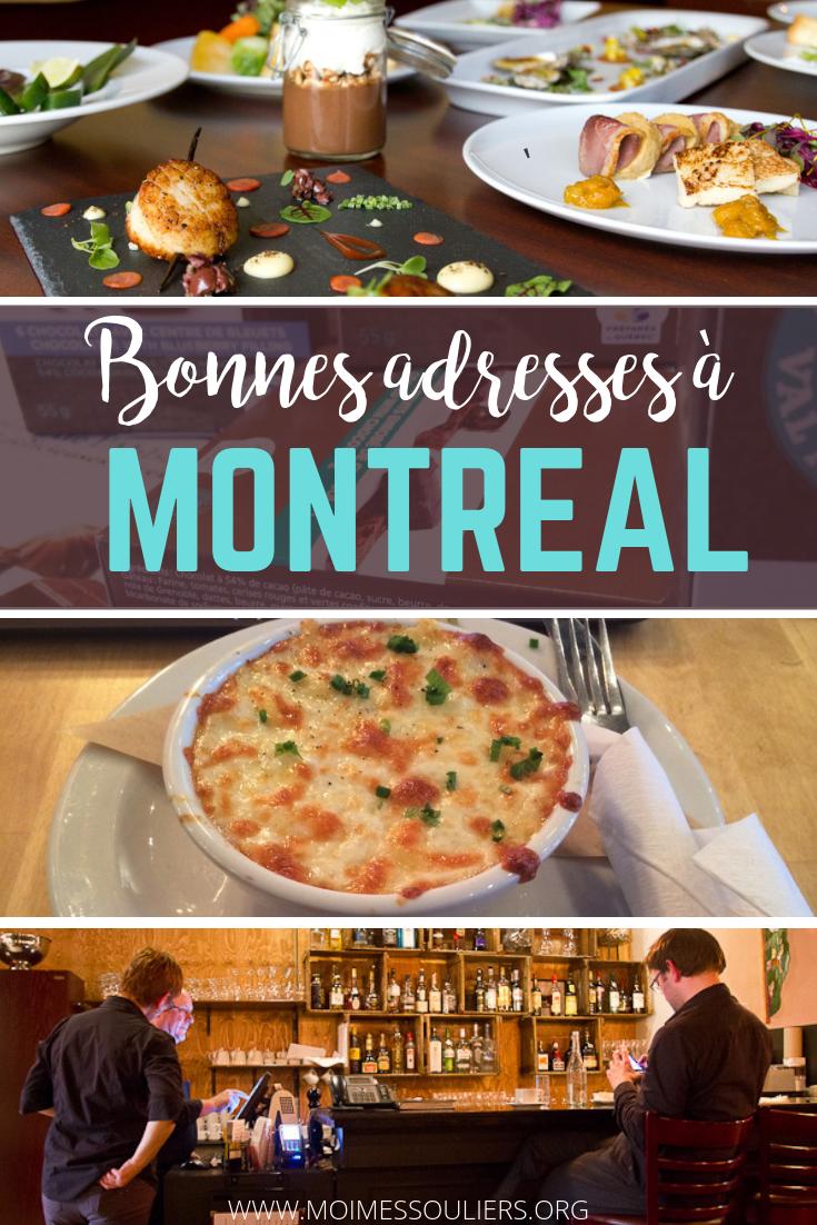 Bonnes adresses où manger à Montréal, Québec