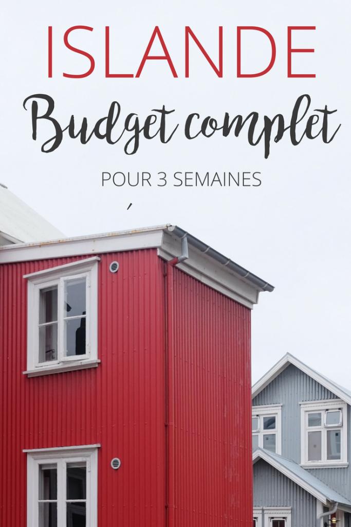 Budget de 3 semaines en Islande