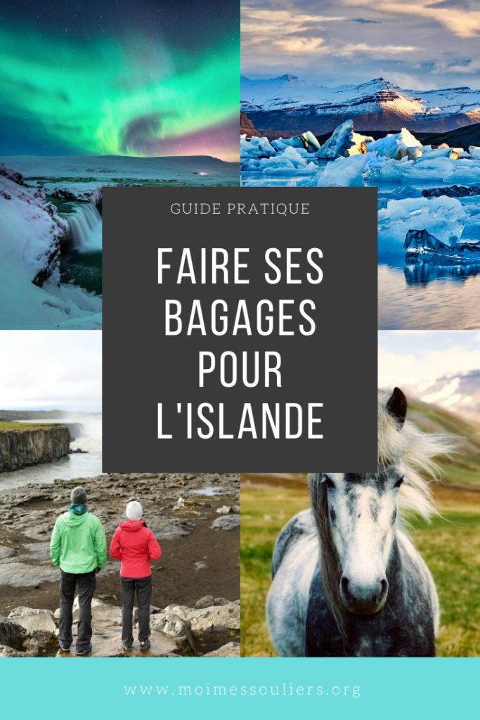 Quoi apporter dans ses bagages Islande