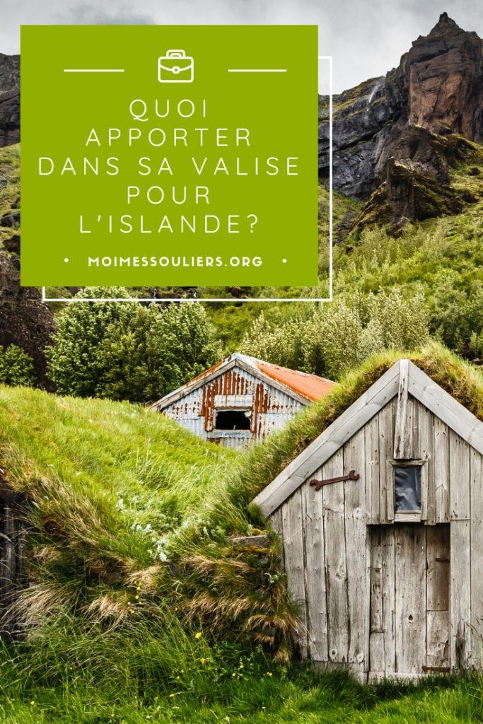 Quoi apporter dans sa valise en Islande