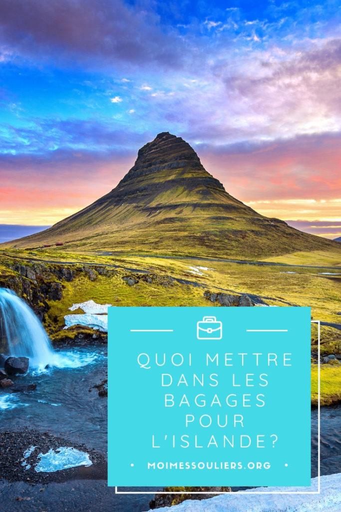 Quoi mettre dans ses bagages en Islande