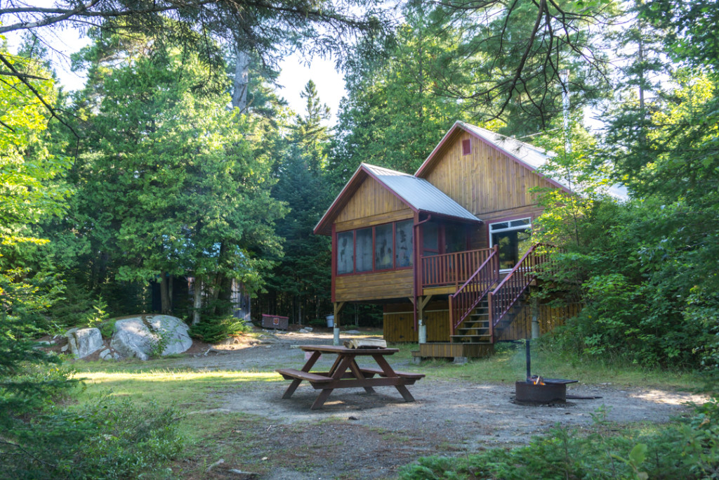 Chalet Legendre - Parc national de Frontenac