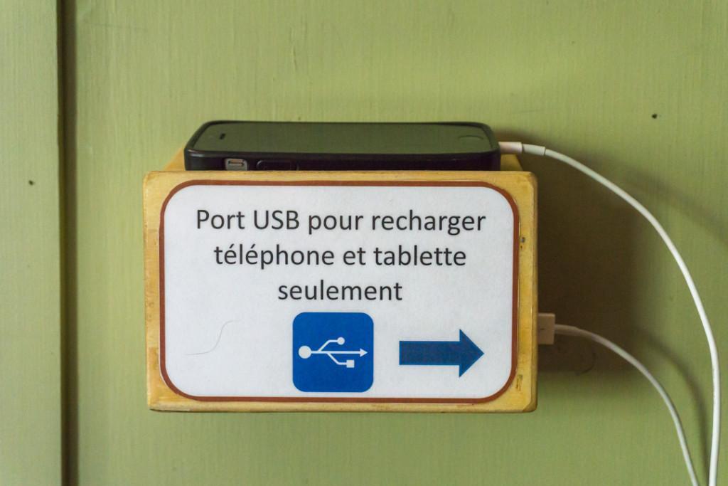 Electricite avec port USB