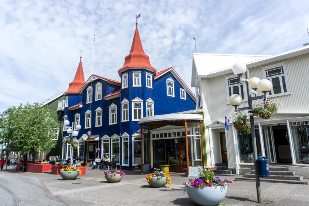 Akureryi au nord de l'Islande